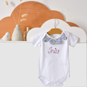 Body bébé personnalisé